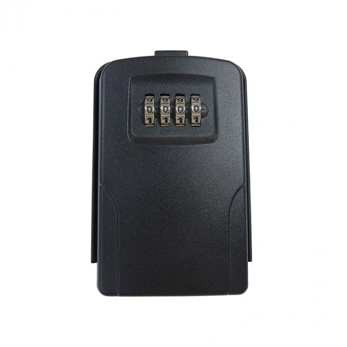 Security key lock box for house, wall mounted key box