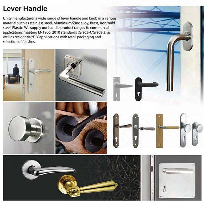UNITY lever door handle sets option