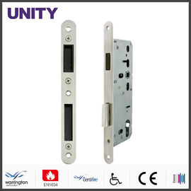 China SS Mortice Door Lock , Mortice Euro Cylinder Lock EN1634-1 Tested supplier
