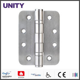 China UNITY Mortice Door Hinge PVD AISI304 Stainless Steel Brass Finish supplier