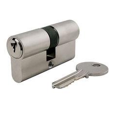 China Aluminium Euro Profile Mortice Lock Cylinder Nickle Economic EN1303 supplier