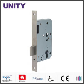 China Certifire Stainless Steel Mortice Door Lock for Fire Door Bathroom Privacy EN1634 Fire Tested EN12209 and CE Marking factory