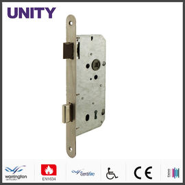 China Fire Test Mortice Door Lock Anti-thrust Nightlatch CE Marking Satin Stainless Steel factory
