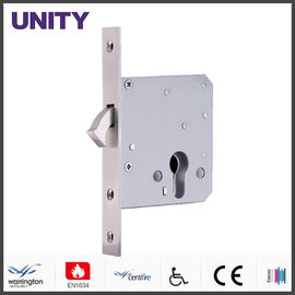 China Satin Finish Mortice Door Lock Anti Thrust Nightlatch Stainless Steel Forend factory