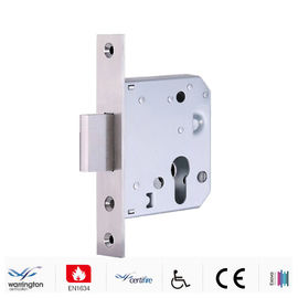 China MLC103-55 Mortice Door Lock Double Throw Deadbolt In Solid Stainless Steel factory