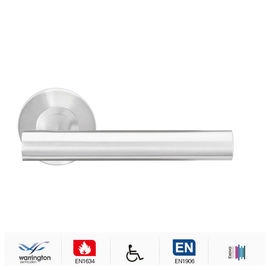 China Stainless steel modern entry door handle for interior/exterior doors factory